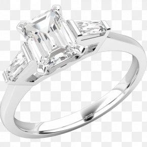 Ring - Wedding Ring Diamond Engagement Ring Jewellery PNG