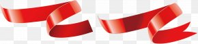 Red Ribbon Streamers Vector - Euclidean Vector Ribbon Shutterstock Cdr PNG
