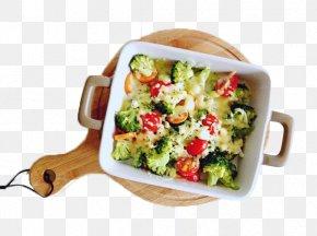 Broccoli Baked Rice - Baking Caesar Salad Vegetarian Cuisine Stamppot Broccoli PNG