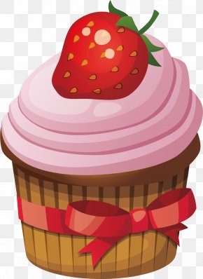 Strawberry Cake - Cupcake Cream Red Velvet Cake Birthday Cake Cookie Cake PNG