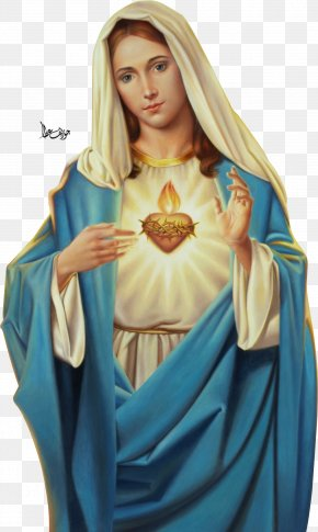 Mary - Immaculate Heart Of Mary Feast Of The Sacred Heart Immaculate Conception PNG
