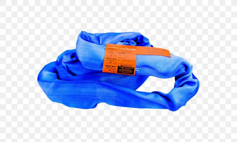 Sling Lifting Equipment Working Load Limit Material Handling Steel, PNG, 1000x600px, Sling, Blue, Cobalt Blue, Electric Blue, Elevator Download Free