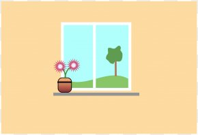 Classroom Cartoon Images - Window Classroom Cartoon Clip Art PNG