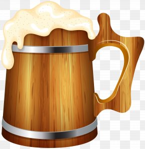 Wooden Beer Mug Clip Art Image - Image File Formats Lossless Compression PNG