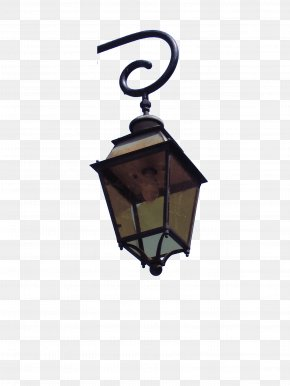 Street Light On The Corner - Street Light Lighting Lantern PNG