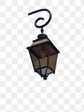 Street Light On The Corner - Street Light Lighting Lantern PNG
