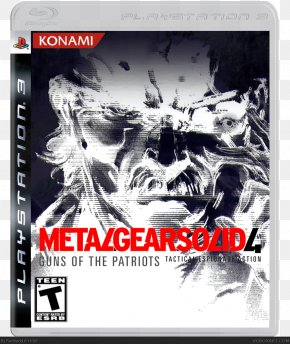 Metal Gear Solid 4 Guns Of The Patriots - Metal Gear Solid 4: Guns Of The Patriots PlayStation 3 PC Game Video Game Personal Computer PNG