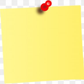 Note - Post-it Note Paper Clip Art PNG