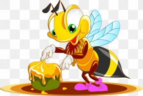 Bee - Honey Bee Bee Sting Cuteness PNG