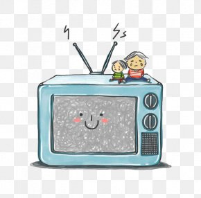 TV And Kids - Television Child Animation PNG