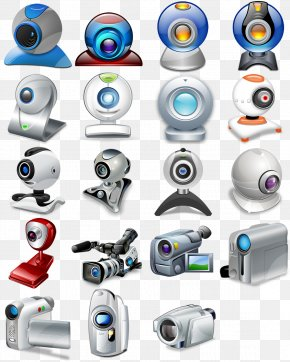 Electronic Equipment Camera - Webcam Video Camera Icon PNG
