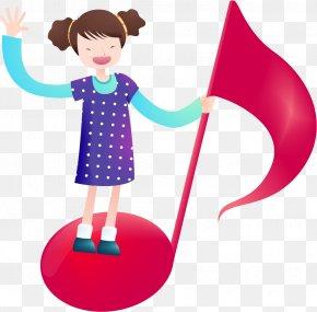 Children's Cartoon Musical Note PNG