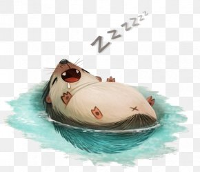 Sleeping Hedgehog - Drawing DeviantArt Photography Illustration PNG