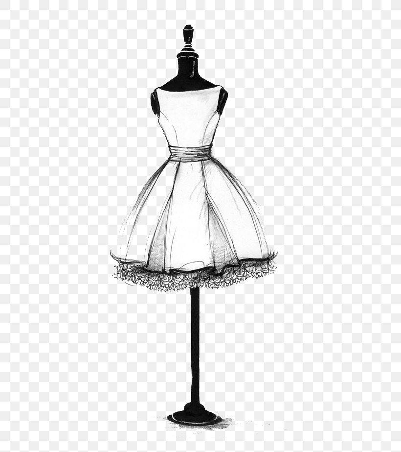 Fashion Dress Art Drawing