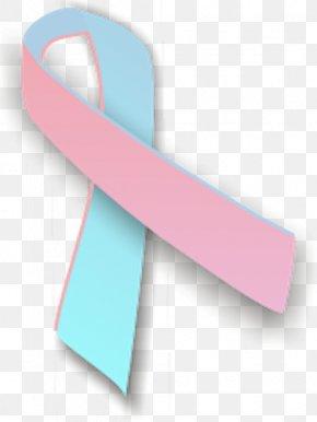 Pink Ribbon - Pink And Blue Ribbon Awareness Ribbon Pink Ribbon PNG