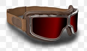 GOGGLES - Goggles Aviator Sunglasses Flight PNG
