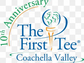 Logo The First Tee Of The Coachella Valley Brand Font PNG