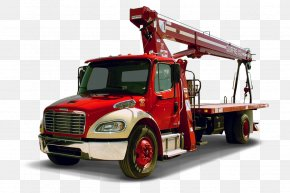 Crane - Commercial Vehicle Caterpillar Inc. Heavy Machinery Crane PNG