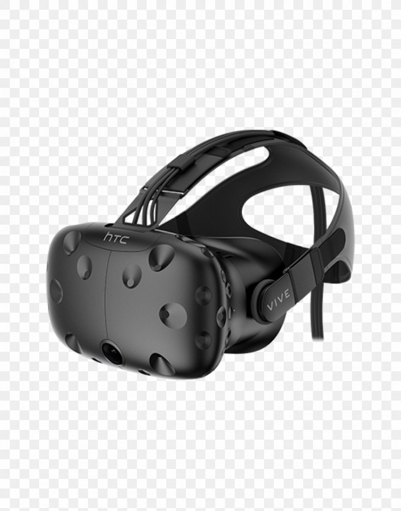 HTC Vive Oculus Rift PlayStation VR Tilt Brush Virtual Reality Headset, PNG, 870x1110px, Htc Vive, Black, Fashion Accessory, Game Controllers, Goggles Download Free