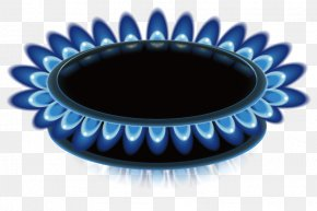 Vector Gas Stove Emits Blue Head - Light Flame PNG