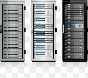 Vector Server - Server 19-inch Rack Data Center Clip Art PNG