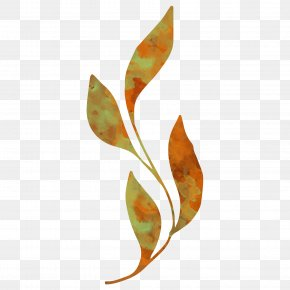 Yellow Leaves Watercolor Vector Pattern - Leaf Watercolor Painting PNG