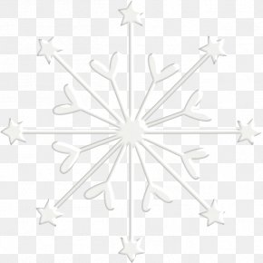 HD Beautiful Snowflake - White Symmetry Pattern PNG