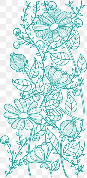 Flower Pattern Vector - Flower Pattern PNG
