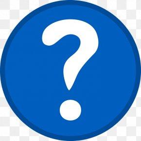Question Mark - Question Clip Art PNG