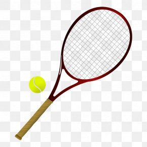 Sports Items - Strings Racket Tennis Balls Rakieta Tenisowa PNG