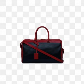 Red Wine Fight Black Leather Box Bag - Handbag Leather Baggage Hand Luggage PNG
