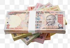 Indian Rupee Banknote Transparent Image - Indian Rupee Currency Banknote Money PNG