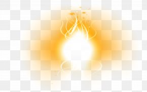 Free Flame Effect Light Effect Temperature Material - Light Sky Illustration PNG