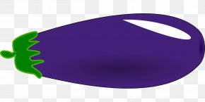Purple Eggplant - Oval Clip Art PNG