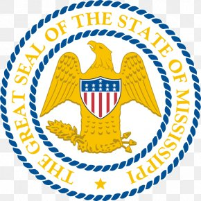 Seal - Seal Of Mississippi Great Seal Of The United States U.S. State PNG