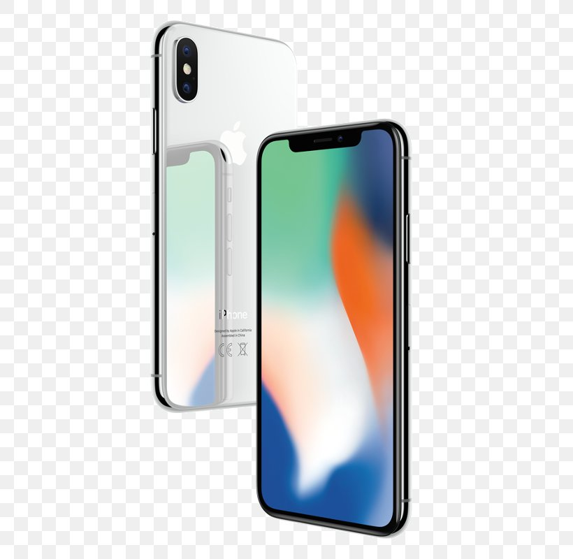 Iphone 8 Apple Iphone X 64gb Silver Smartphone 64 Gb Png
