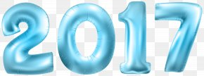 2017 Blue Transparent Clip Art Image - New Year's Eve Party New Year's Day New Year's Resolution PNG