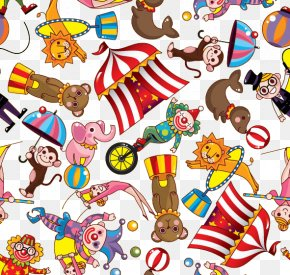 Circus - Circus Cartoon Clown Illustration PNG