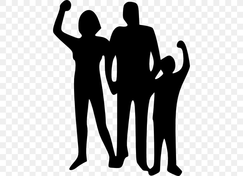 Family Clip Art, PNG, 462x594px, Family, Black And White, Child, Communication, Drawing Download Free