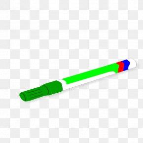 Green Marker Cliparts - Green Marker Pen Highlighter Color Clip Art PNG