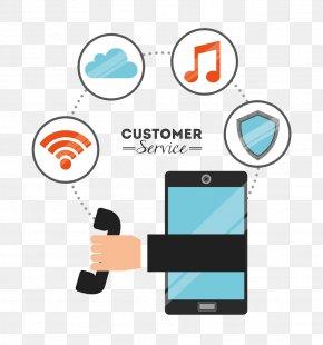 Internet Phone - Internet Customer Service Icon PNG