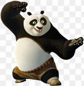 Panda - Po Master Shifu Giant Panda Kung Fu Panda PNG