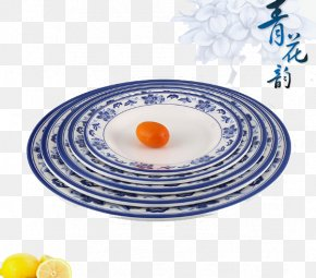 Breakfast Plate Of Fruit Dessert Dish Steak Dish - Breakfast Plate Porcelain Dish Tableware PNG