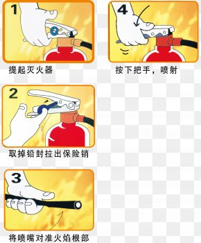 Use Of Fire Extinguishers - Fire Extinguisher Conflagration Firefighting Fire Protection PNG