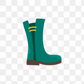 A Green Rain Boots - Designer Icon PNG