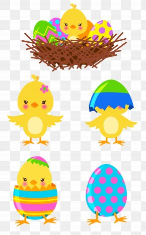 Easter Chicks Cliparts - Easter Bunny Chicken Clip Art PNG