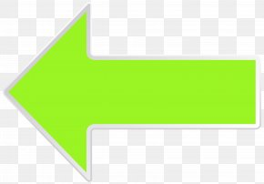 Arrow Green Left Clip Art Image - Line Angle Point Area PNG