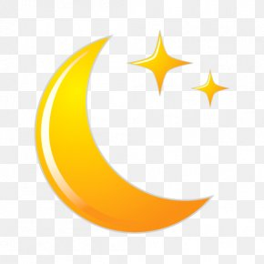 Moon - Moon Crescent Icon PNG
