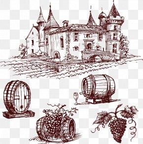 Wine Barrel - Red Wine Port Wine Common Grape Vine Chxe2teau Mouton Rothschild PNG