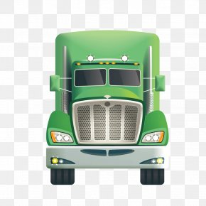 Vector Bulk Truck Truck - Transport Cargo Truck Icon PNG